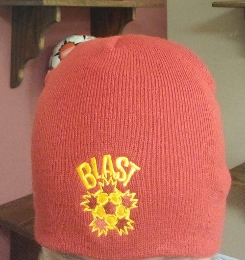 Blast Red Winter Hat w/o Cuff