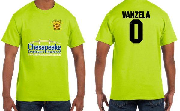 Vanzela Player Tee