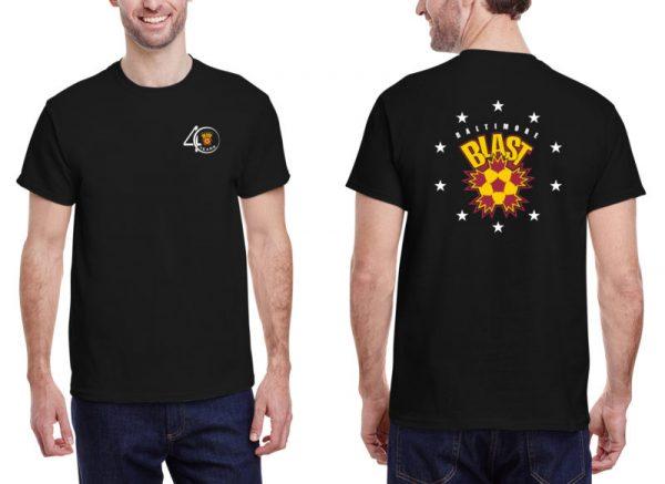 40th Anniversary T-shirt Cotton Short Sleeve