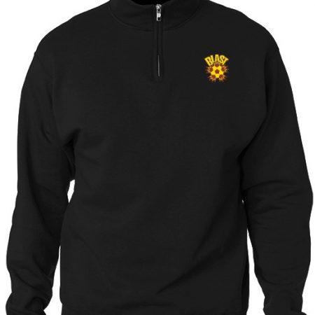 1/4 Zip jacket (Black)